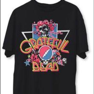 Grateful Dead Neon Graphic T Shirt …
